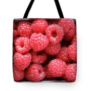Rasberries Market Bergen Tote Bag