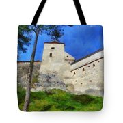 Rasnov Fortress Tote Bag