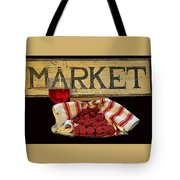 Raspberries At The Market Tote Bag