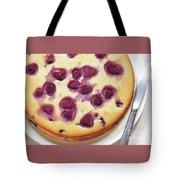 Raspberry Cake Tote Bag