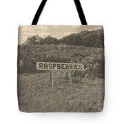 Raspberry Fields  Tote Bag