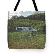 Raspberry Fields Three Tote Bag