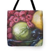 Raspberry Lime Tote Bag