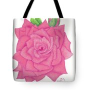 Raspberry Pink Tote Bag