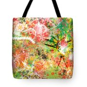 Rasta Flowers Tote Bag