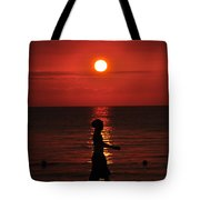 Rastaman Sunset Tote Bag