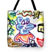 Rat Doodle Tote Bag