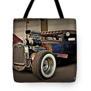 Rat Rod Scene Tote Bag