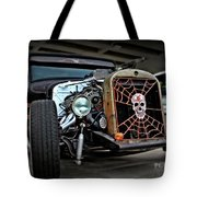 Rat Rod Style Tote Bag