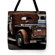 Rat Rod Work Truck Tote Bag