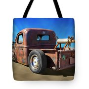 Rat Truck On Beach 2 Tote Bag