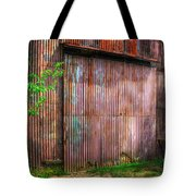 Rats Castle Farm Barn Door Tote Bag