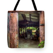 Rats Castle Farm Machinery Shed Tote Bag