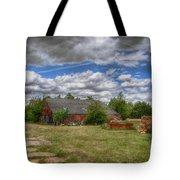 Rats Castle Farmyard  Tote Bag
