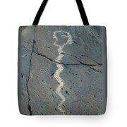 Rattlesnake Petroglyph 2 Tote Bag