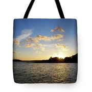 Raumanmeri Sunset Tote Bag