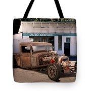 Raunchy Rat Rod Pickup Tote Bag