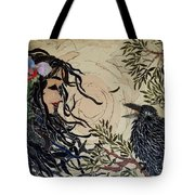 Raven Beauties Tote Bag