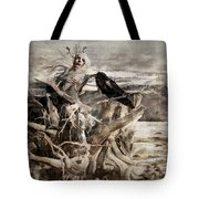 Raven Berry Tote Bag