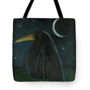 Raven By Moonlight No. 2 Tote Bag