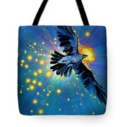Raven First Bird Tote Bag