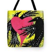 Raven Love Tote Bag