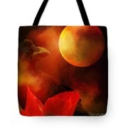 Raven Moon And Poppy 2 Tote Bag
