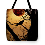 Raven Moon Tote Bag by Bill Cannon