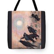 Raven Party Tote Bag