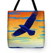 Raven Rising Tote Bag