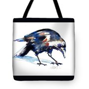 Raven Shadow From Vancouver Tote Bag