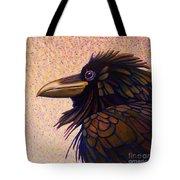 Raven Shaman Tote Bag