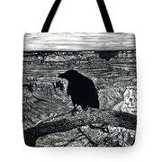 Raven Spirit Tote Bag