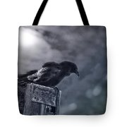 Raven Twilight Tote Bag