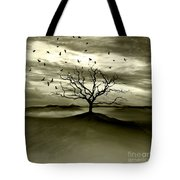 Raven Valley Tote Bag by Jacky Gerritsen