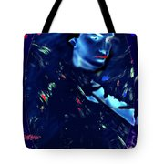 Raven Woman Tote Bag