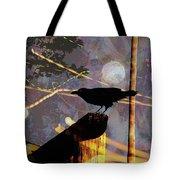 Ravens Night Tote Bag
