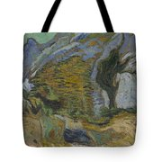 Ravine With A Small Stream Saint Remyde Provence  October 1889 Vincent Van Gogh 1853  1890 Tote Bag