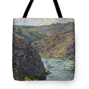 Ravines Of The Creuse At The End Of The Day Tote Bag