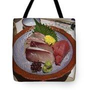 Raw Fish Sashimi Plate - Kyoto Japan Tote Bag