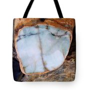 Raw Jadite Rock Tote Bag