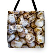 Raw Mushrooms Tote Bag