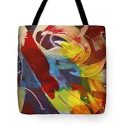 Raw Paint - 281 Tote Bag