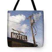 Rawhide Motel Tote Bag