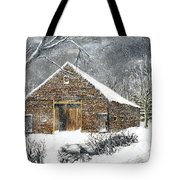Ray Emerson's Old Barn Tote Bag by Jack Skinner