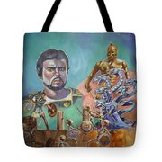 Ray Harryhausen Tribute Jason And The Argonauts Tote Bag