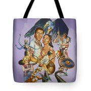 Ray Harryhausen Tribute Seventh Voyage Of Sinbad Tote Bag