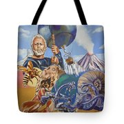 Ray Harryhausen Tribute The Mysterious Island Tote Bag