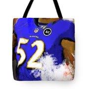 Ray Lewis  Tote Bag