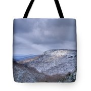 Ray Of Light On Mountain Tote Bag